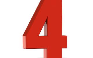 Число 4 в фен-шуй: значение для жизни