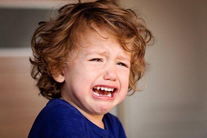 Повышение температуры у ребенка на фоне истерики
